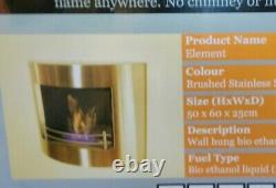 The Naked Flame Element Bioethanol Bio Ethanol Real Flame Fireplace
