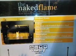 The Naked Flame Quadrant Bioethanol Bio Ethanol Real Flame Fireplace