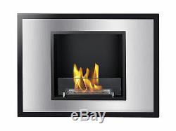 Vienna UL / CUL Ignis Recessed Ventless Bio Ethanol Fireplace UL Listed