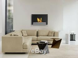 Wall Mounted Ventless Bio Ethanol Fireplace Senti Ignis