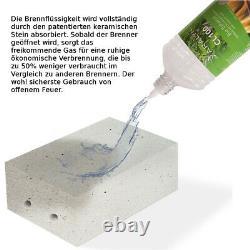Woody Bioethanol Kamin mit Keramik Brenner Tischkamin