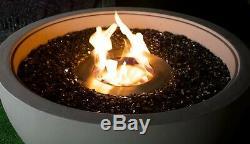 XL Bioethanol FIREPIT FIRE PIT Bio Ethanol Patio Heater Fireplace Gas Electric